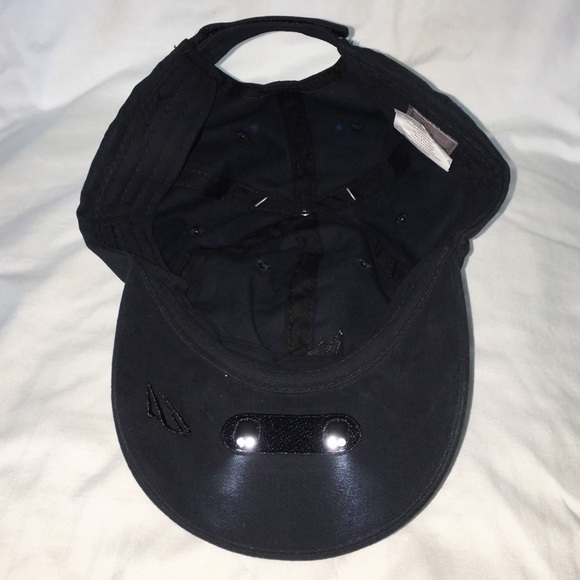 2db82d093c2 Black Powercap 25 10 hands free LED light up hat
